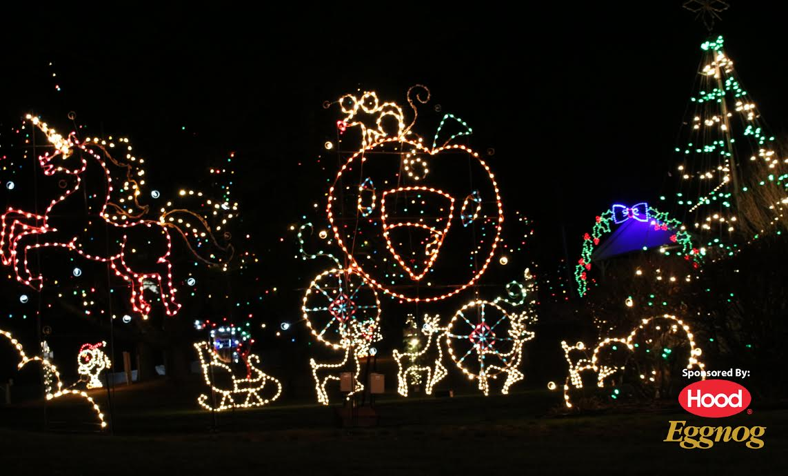 Why I LOVE Edaville USA In Carver MA - Best places to vacation at christmas time