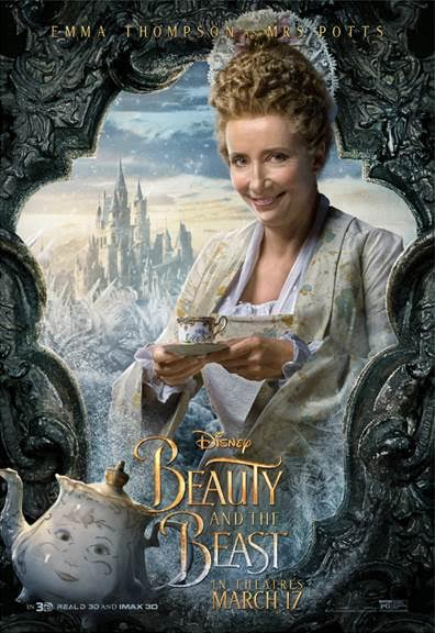 unnamed 10 BEAUTY AND THE BEAST   Character Posters Now Available!!!