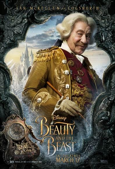unnamed 111 BEAUTY AND THE BEAST   Character Posters Now Available!!!