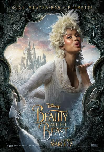 unnamed 121 BEAUTY AND THE BEAST   Character Posters Now Available!!!