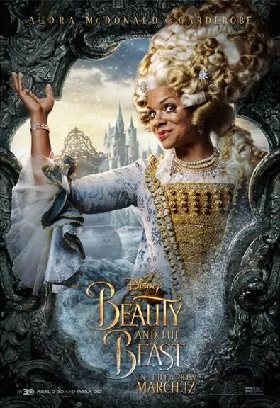 unnamed 131 BEAUTY AND THE BEAST   Character Posters Now Available!!!