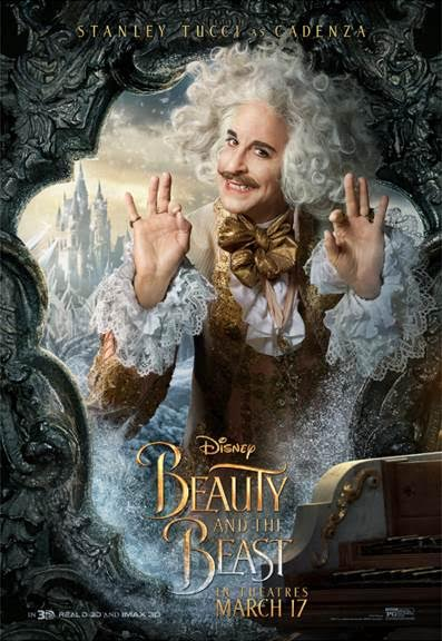 unnamed 141 BEAUTY AND THE BEAST   Character Posters Now Available!!!