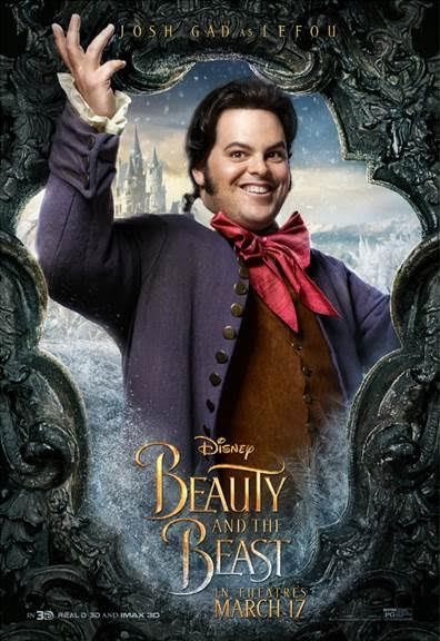 unnamed 72 BEAUTY AND THE BEAST   Character Posters Now Available!!!