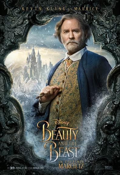 unnamed 81 BEAUTY AND THE BEAST   Character Posters Now Available!!!