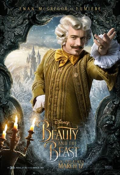 unnamed 91 BEAUTY AND THE BEAST   Character Posters Now Available!!!