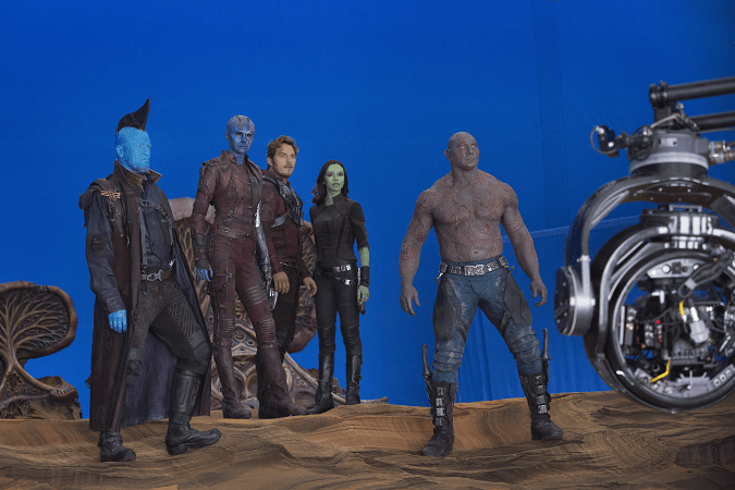 Guardians 2 on set photos 1 I Went On Set For Guardians of The Galaxy Vol. 2! #GotGVol2