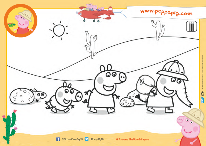 unnamed 2 700x495 Its time for a trip around the world with Peppa Pig!