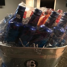 The BroBasket for A Great Gift and a BroBasket Big Giveaway (Contains Bud Lights, Jack Daniels, Pint Glasses, and more!)