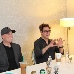 My Interview Director James Gunn and Producer and President of Marvel Studios Kevin Feige #GotGVol2Event