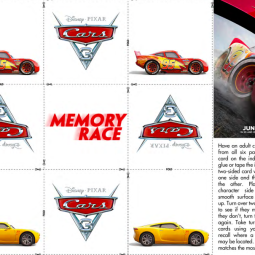 "CARS 3 – ""Build Your Own Race Course"" Activity Sheets Now Available!!! #Cars3Event"