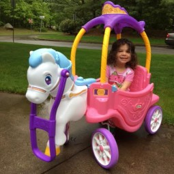 Little Tikes Princess Horse and Carriage Review + Giveaway!