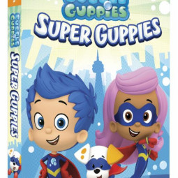 """Bubble Guppies: Super Guppies"""" – available on DVD 5/16 and a Bubble Guppies Giveaway!"""