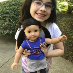 American Girl Z Yang Girl Review + Giveaway!