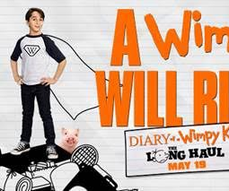 DIARY OF A WIMPY KID: THE LONG HAUL and a $25 Visa Gift Card +book Giveaway!