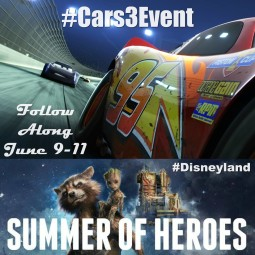 I Am Going to the #Cars3Event at Disneyland!