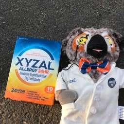 Allergy Symptoms – Don't Let Them Get You Down. Get Xyzal and a Big Allergy Giveaway Package!