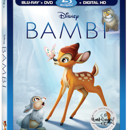 BAMBI arrives on  Blu-ray™, DVD and On-Demand on Today, June 6