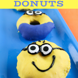 Minions Donut Recipe Just in Time For The Despicable 3 Movie!!