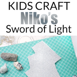 Niko and the Sword of Light – A Brand-New Amazon Original Kids Series and a FUN craft!