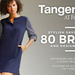 Back to School Shopping with Foxwoods Tanger Outlets!