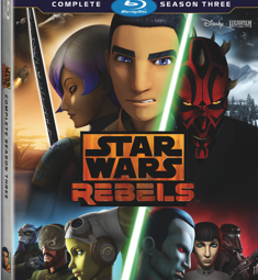 Star Wars Rebels: Season 3 Now Available!