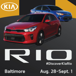 I Am Heading to the #DiscoverKiaRio Event in Baltimore! Follow Along!