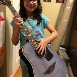Keith Urban Junior Player Tour Guitar- Hayley is Rocking Out!