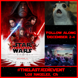 Follow Me As I Head To A Galaxy Far Far Away!! #TheLastJediEvent