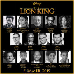 Jon Favreau's All-New Big-Screen Adventure THE LION KING Roars To Life With All-Star Cast!!!
