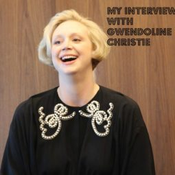 My Interview with the Real Captain Phasma- Gwendoline Christie! #TheLastJediEvent