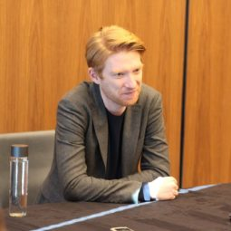 DOMHNALL GLEESON- General Hux is in command!