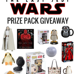 Star Wars: The Last Jedi BIG GIVEAWAY!  #TheLastJedi  #THBGiveaway