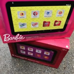 Nabi American Girl and Barbie Tablets for the Holidays!