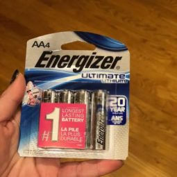 Happy Holidays with Energizer Ultimate Lithium Batteries