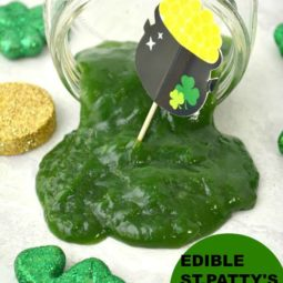 Edible St. Patrick's Day Slime Recipe!