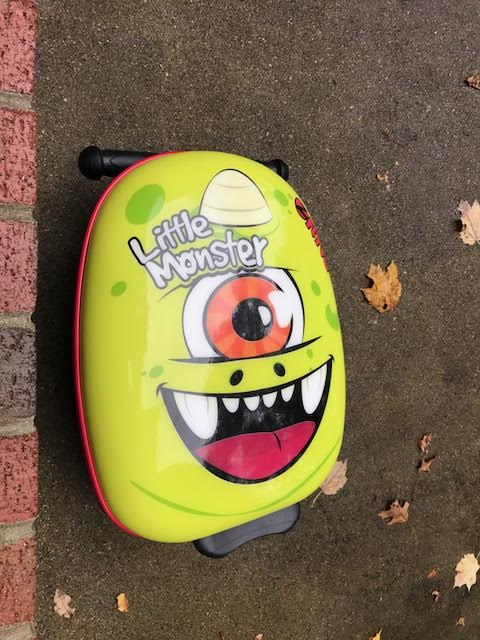 Kids Scooter and Luggage In One