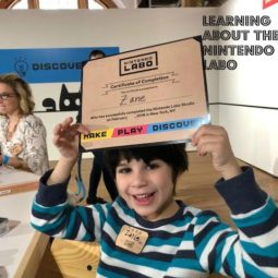 I attended the Nintendo Labo event in NYC!