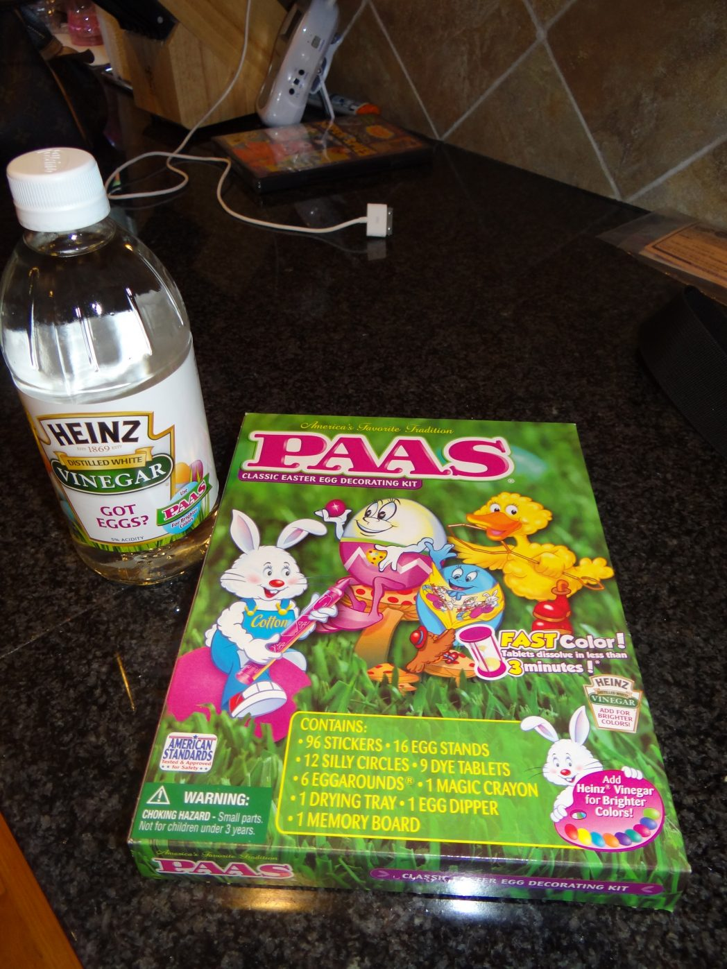 Getting Easter Ready with Heinz and PAAS Easter Egg Dying!