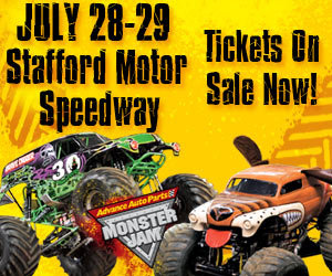 Monster Jam time in Stafford Springs, Connecticut- 2 winners #GIVEAWAY for 4 pack of tickets each!