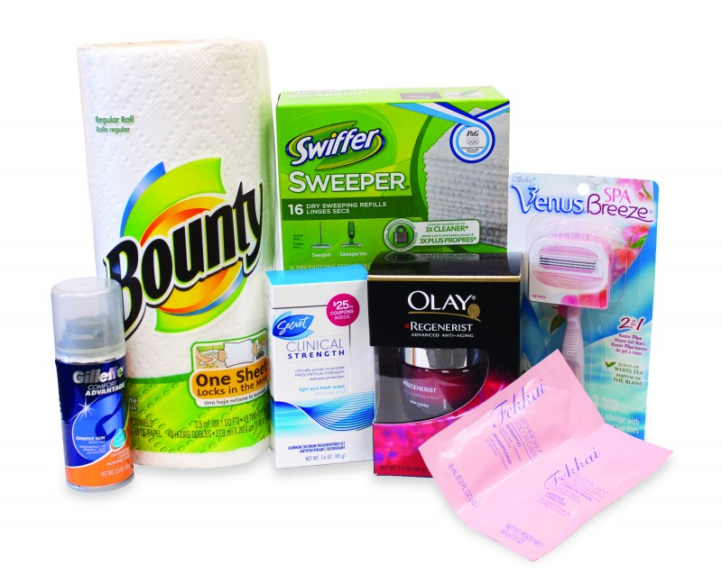 Procter and Gamble/ Costco Prize Pack Review-Giveaway