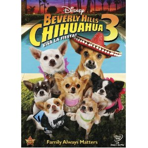 Disney Beverly Hills Chihuahua 3 Viva La Fiesta DVD Review-Giveaway: