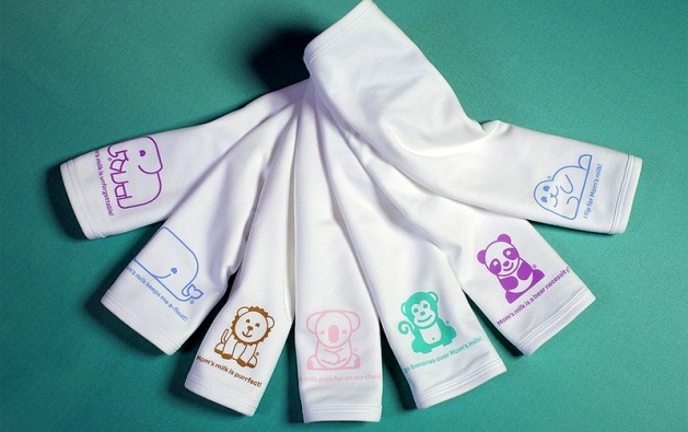 Baby Burp Cloth With Funny Expression Saying: Baby Gooroo Breastfeeding Products, Bips, Towels, And More