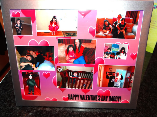 The Perfect Valentine's Day Photo Collage Using The Walgreens App! #Cbias