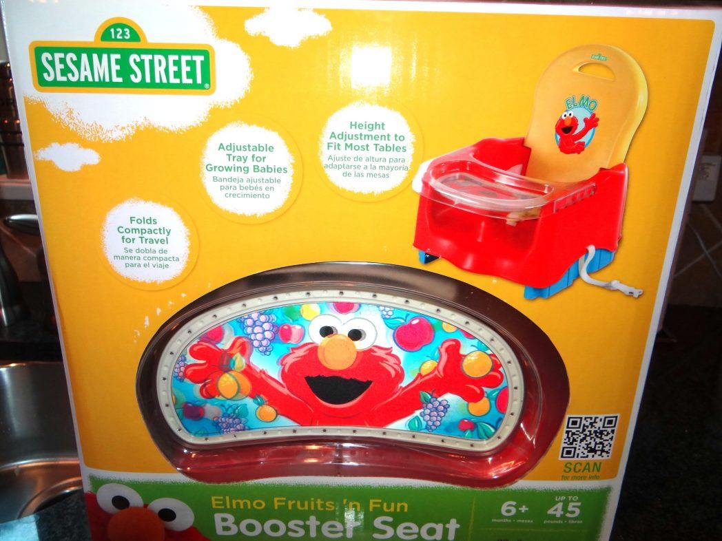 Sesame Street Elmo Fruits N Fun Booster Seat Review