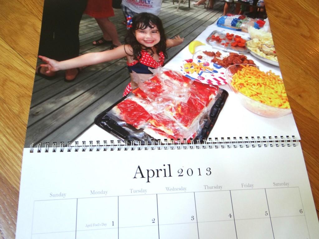 personalized zazzle calendar