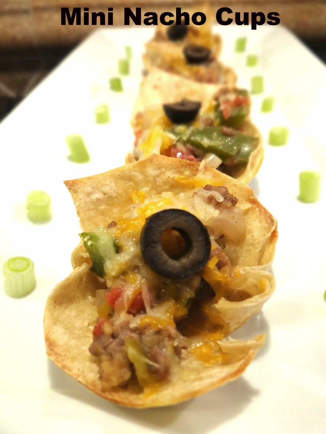 Mini Beef Nacho Cups with Kraft! #FreshTake #cbias