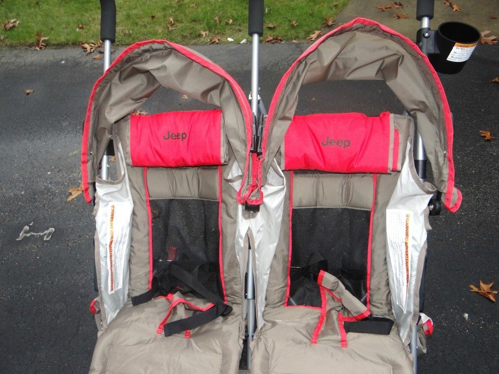 Jeep Wrangler Double Umbrella Stroller