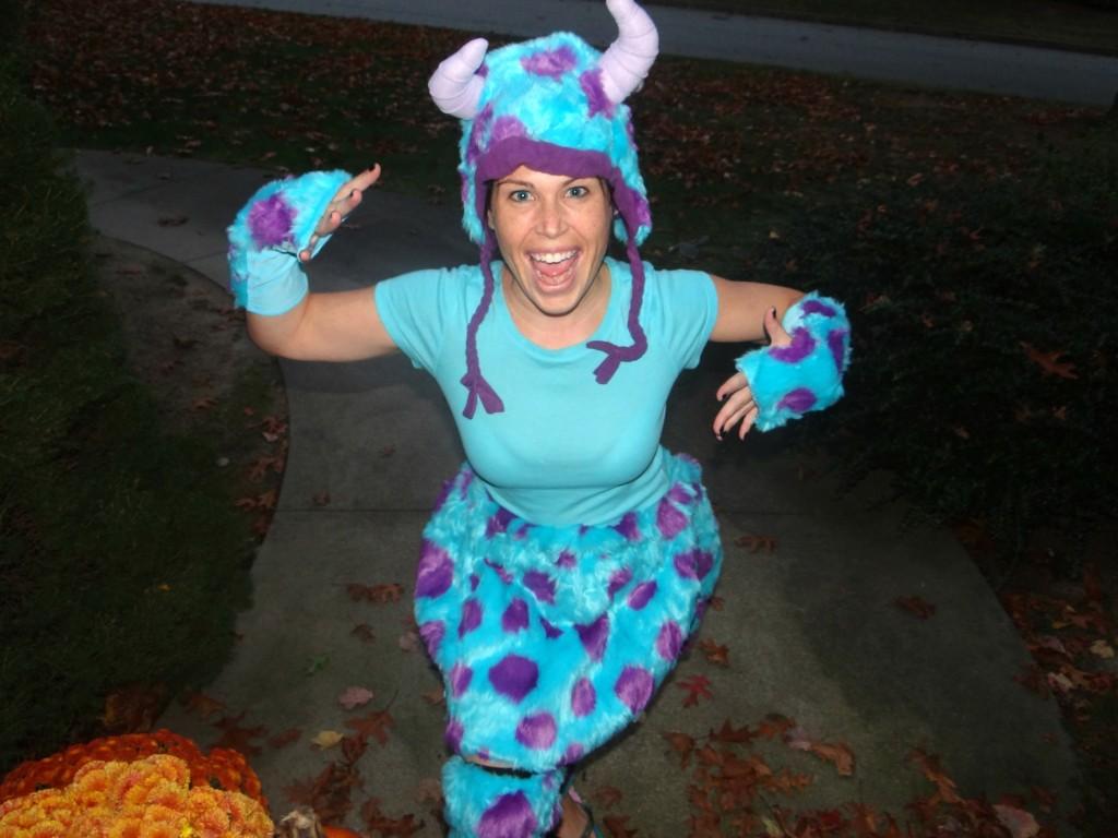 Kohls Sulley Costume