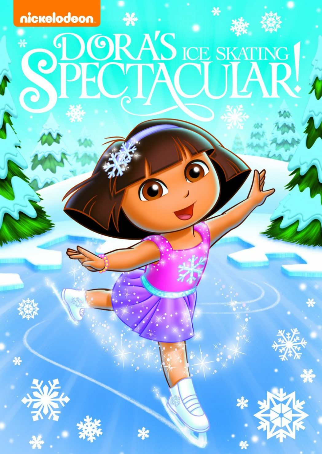 Dora's Ice Skating Spectacular and Spongebob SquarePants: It's A Spongebob Christmas!