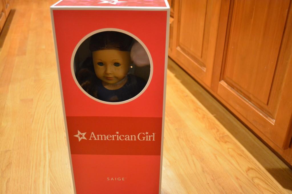 American Girl Saige
